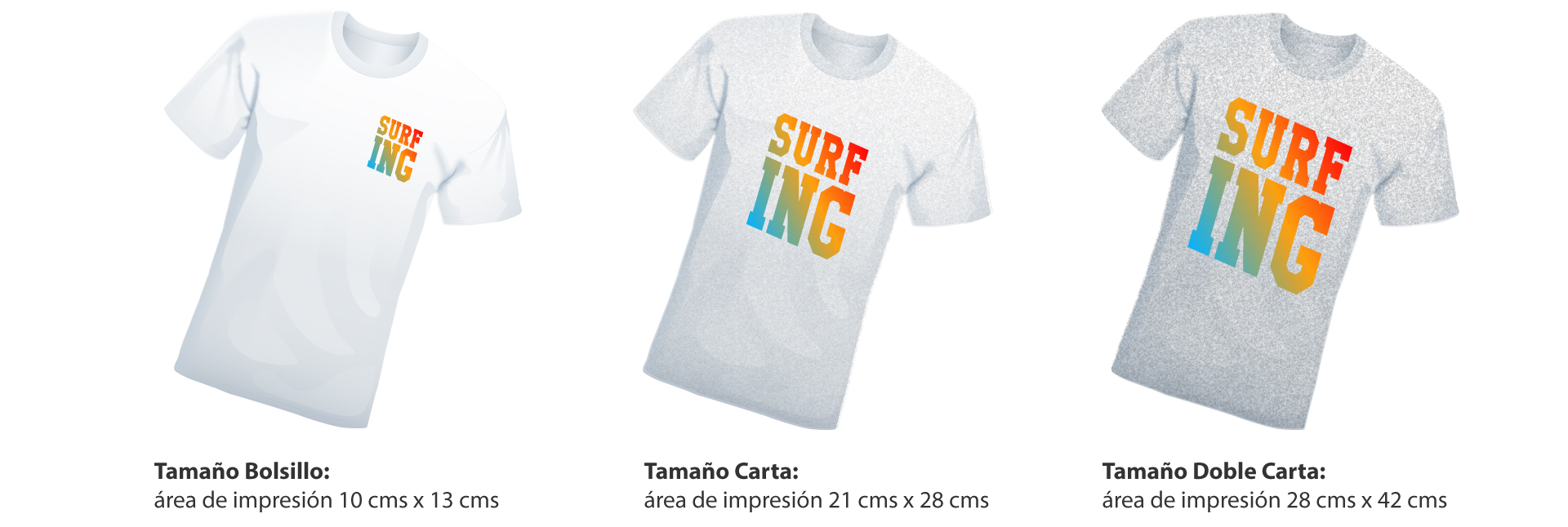 04607a0890c2b Estampado de Camisetas - Camisetas personalizadas